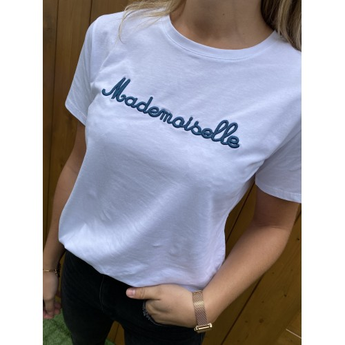 T-Shirt Mademoiselle Bleu
