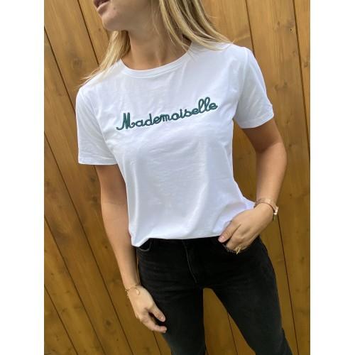 T-Shirt Mademoiselle Vert
